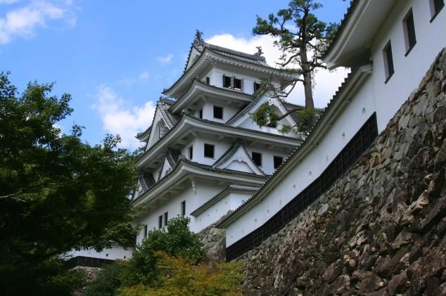 郡上八幡城 日本最古の木造再建城